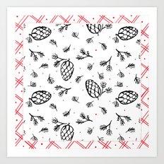 Holiday Joy: Pattern Art Print