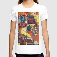cartoon T-shirts featuring Cartoon by Mira C