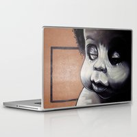 biggie Laptop & iPad Skins featuring Biggie Baby by Adam C Schrimmer