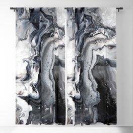 Marble B/W/G Blackout Curtain