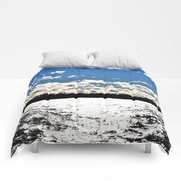 Water | Lake Ontario | Landscape | Toronto | Nadia Bonello Comforters