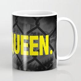 "Urban Word Font ""Queen"" Inner City Street Style. Coffee Mug"