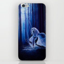Dark forest Pegasus iPhone Skin