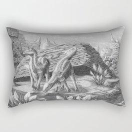 Indurus by the waterhole Rectangular Pillow