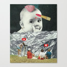 Gender Baby Canvas Print