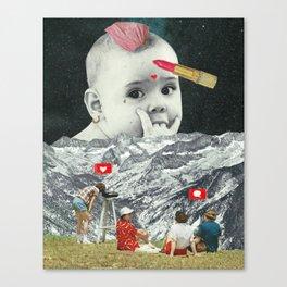 Gender Baby Canvas Print