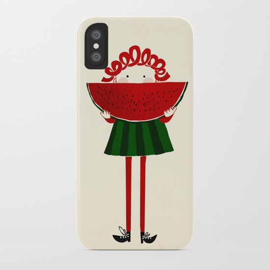 Melone girl iPhone Case