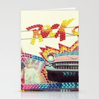 rock and roll Stationery Cards featuring Rock & Roll by Libertad Leal Photography