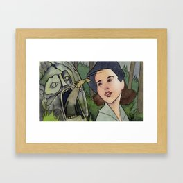 Pan's Labyrinth - Bug Framed Art Print