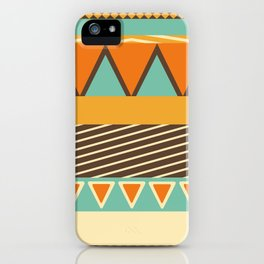 Colorful Style Pattern iPhone Case