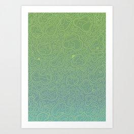 Amebas Art Print
