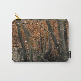 Forest with waterfall Carry-All Pouch