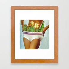 Weight Loss Wrap Framed Art Print