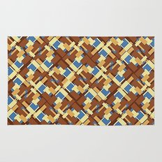 Blue Earth Patch Pattern Rug