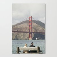 solid Canvas Prints featuring Solid by Larry Corio