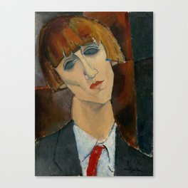 "Amedeo Modigliani ""Madame Kisling""(1917) Canvas Print"