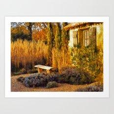 Le Jardin de Vincent Art Print