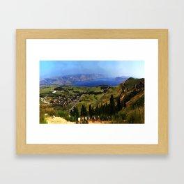 Sea of Galille (kinneret) Framed Art Print