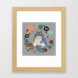 Troll Wreath Framed Art Print