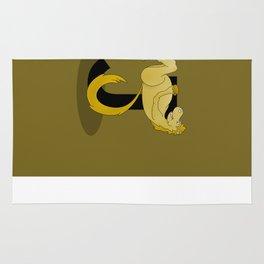 Pony Monogram Letter J Rug