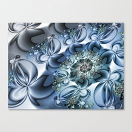 Dynamic Spiral, Abstract Fractal Art Canvas Print