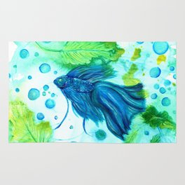 Shimmering Sea Betta Rug