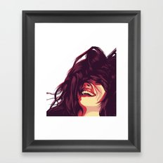 Switch back to your time Framed Art Print