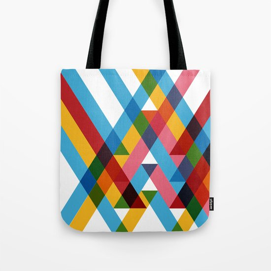 Ribbons Overlay ///www.pencilmeinstationery.com Tote Bag