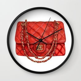 Designer Purse Wall Clock