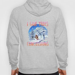 Snowboard Steve - I give trees concussions Hoody
