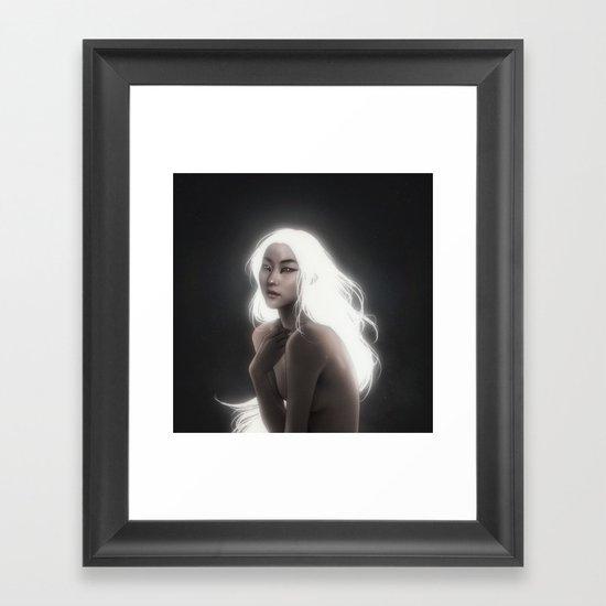 Divinity.  Framed Art Print