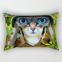 The Bird Watcher Rectangular Pillow