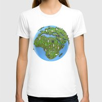 data T-shirts featuring Data Earth by GrandeDuc