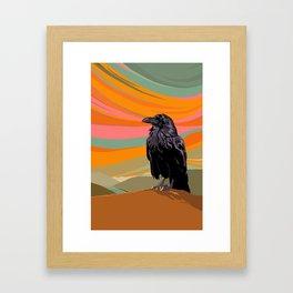Ravens Song Framed Art Print