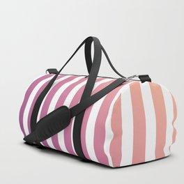 pastel stripes or pinstripes Duffle Bag