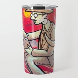Fernando Pessoa Travel Mug