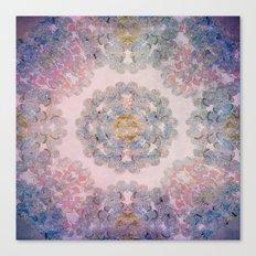 Butterfly Mandala Canvas Print