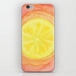 Acid Lemon iPhone Skin