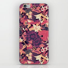 Black Dahlia (Blood Variant) iPhone Skin