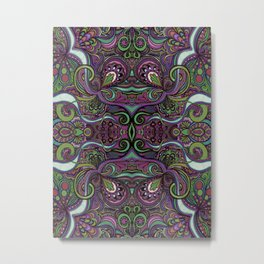 Muted Symmetry Metal Print