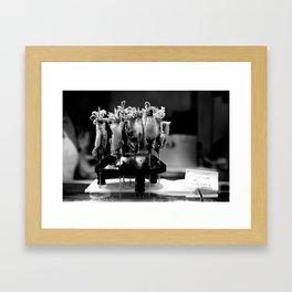 Calamares (Boqueria, Barcelona) Framed Art Print