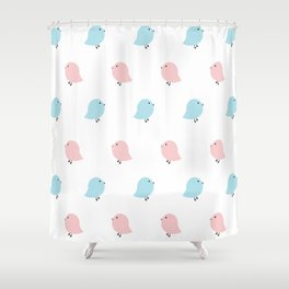 Chick Shower Curtain