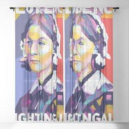 Florence Nightingale Sheer Curtain