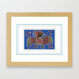Panama Molas Framed Art Print