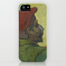 Paul Gauguin (Man in a Red Beret) iPhone Case