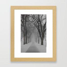 Winter Returns Framed Art Print