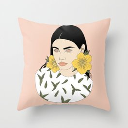 What's Up Buttercup? Throw Pillow