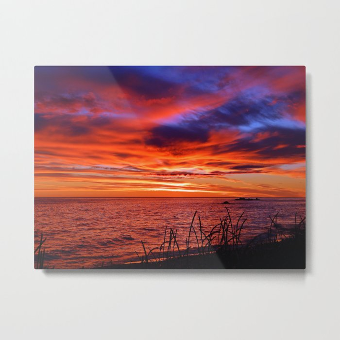 The Mighty Saint-Lawrence at Dawn Metal Print