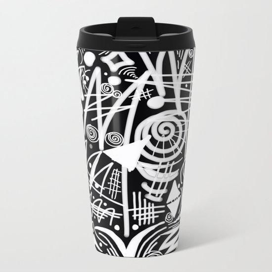 Chalk Board! Metal Travel Mug