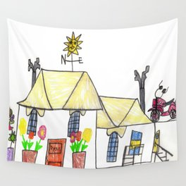 Home, Sweet Home Wall Tapestry